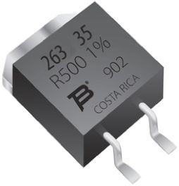 Bourns 75Ω Thick Film SMD Resistor ±1% 35W - PWR263S-35-75R0F
