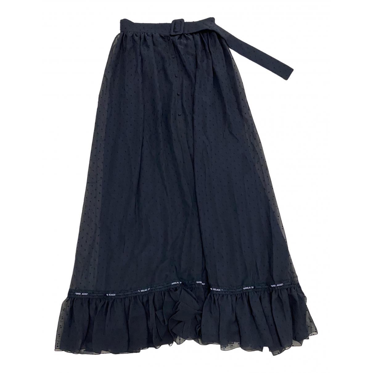 Off-white N Black Cotton skirt for Women 42 FR