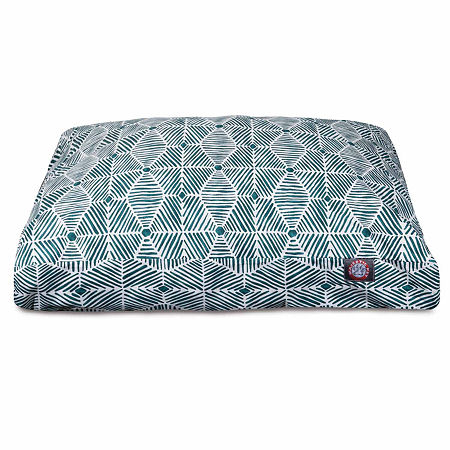 Majestic Pet Charlie Rectangle Pet Bed, One Size , Green