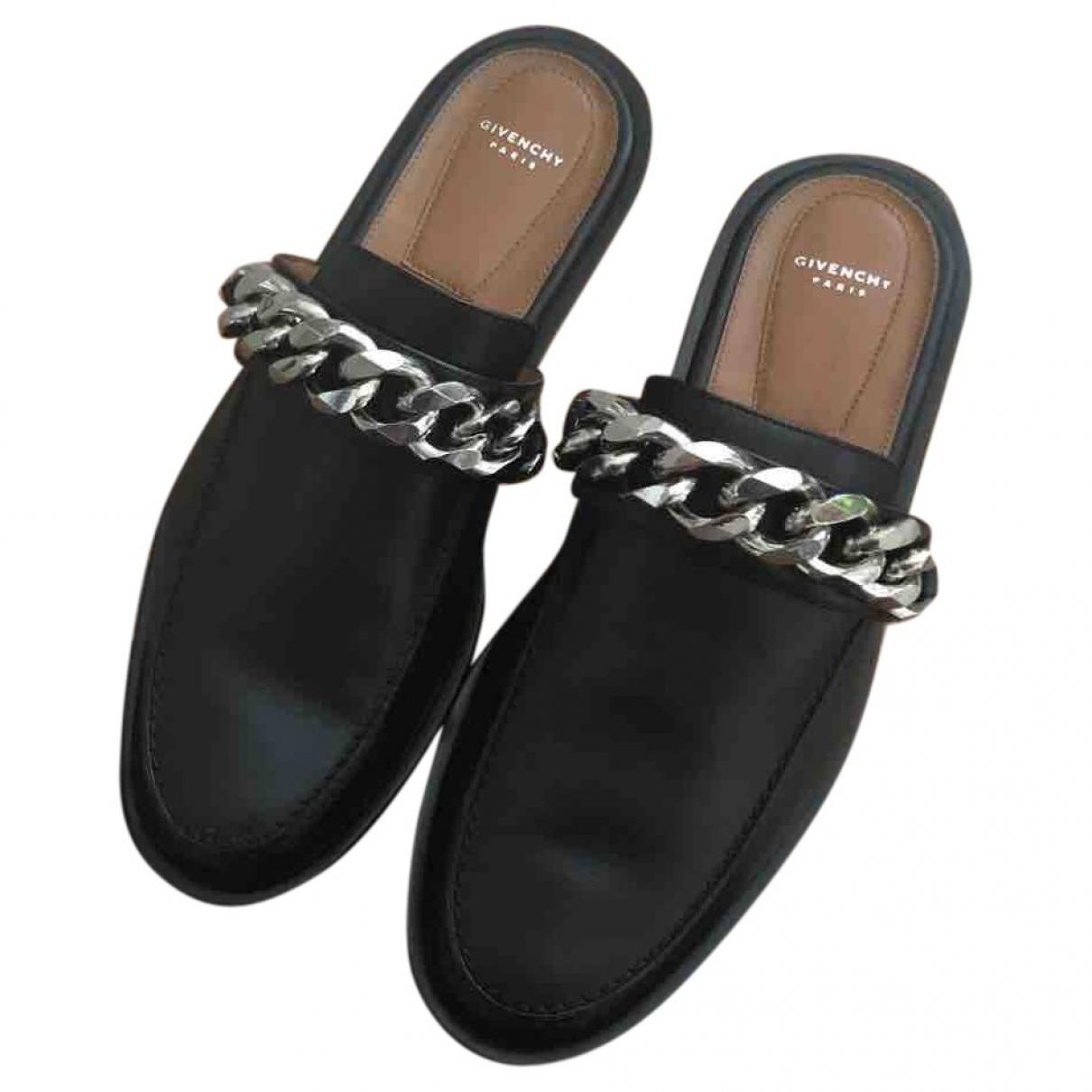 Givenchy - Mocassins   pour femme en cuir - noir