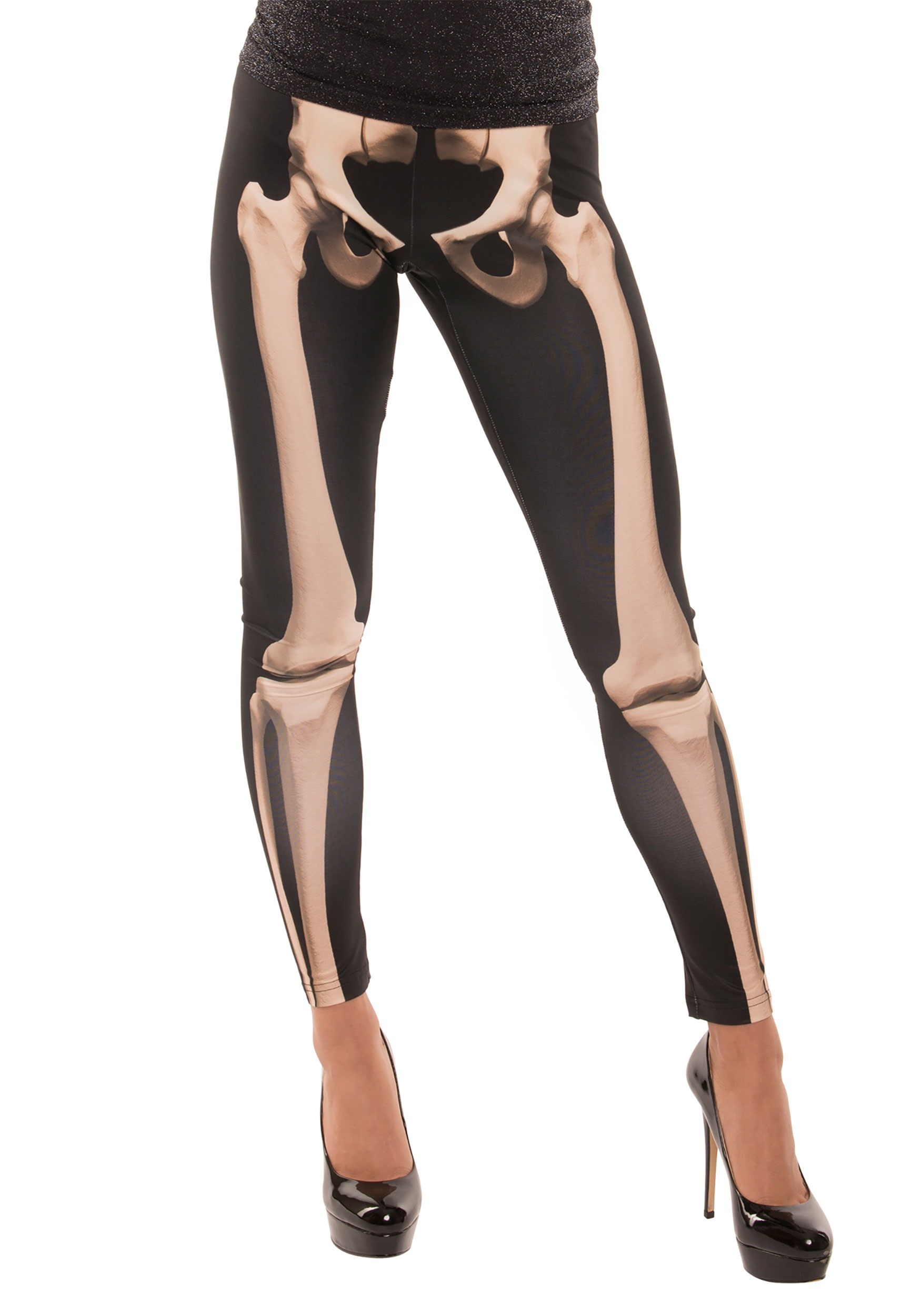 Adult Skeleton Leggings