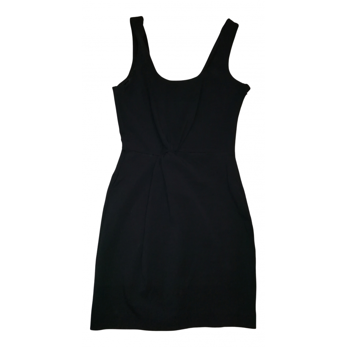 Emporio Armani \N Kleid in  Schwarz Synthetik