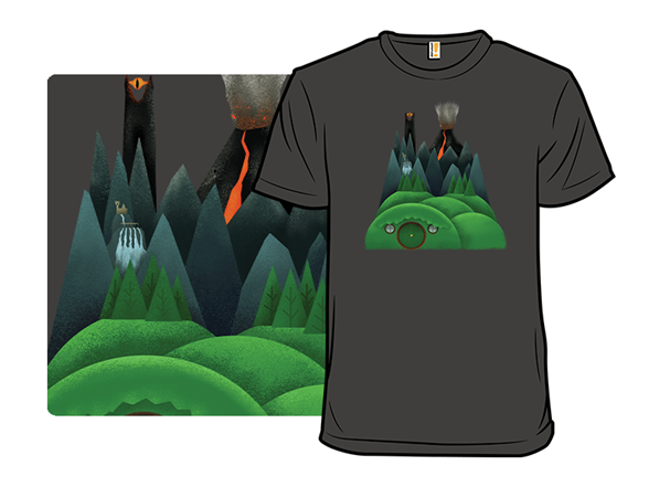 Minimal Middle Earth T Shirt