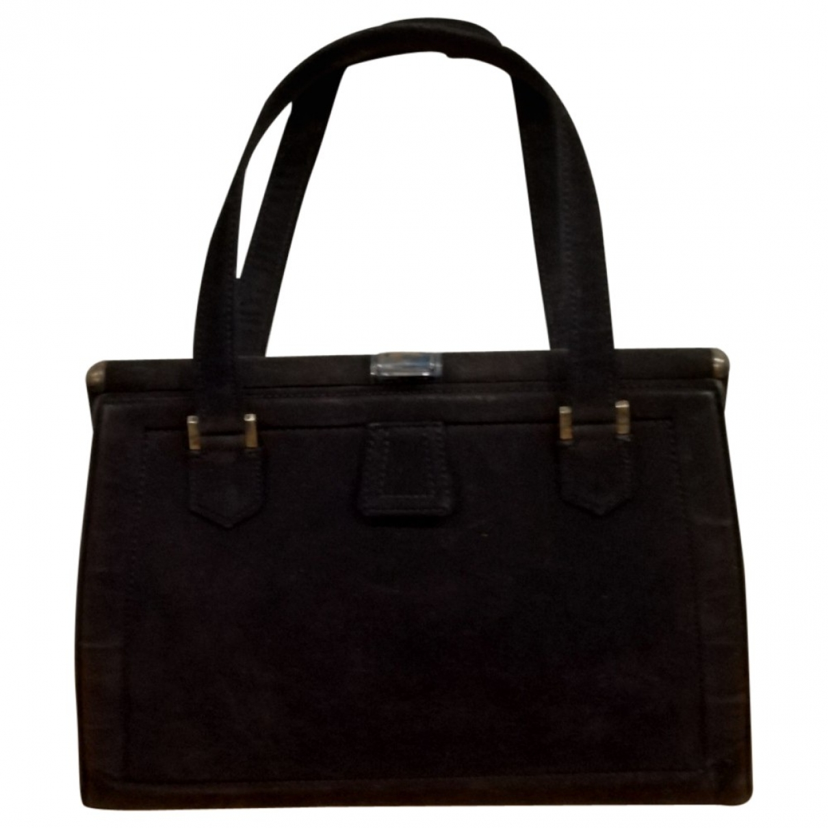 Hermès \N Black Leather handbag for Women \N