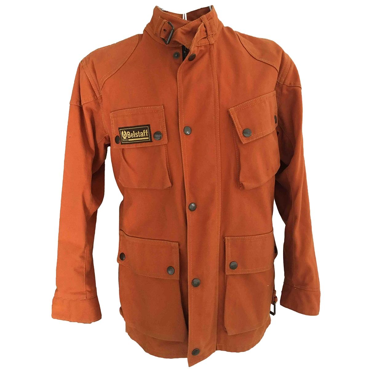 Belstaff \N Orange Cotton jacket & coat for Kids 10 years - up to 142cm FR