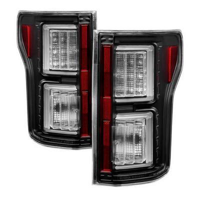 Spyder Auto Light Bar LED Tail Lights (Black) - 5085689