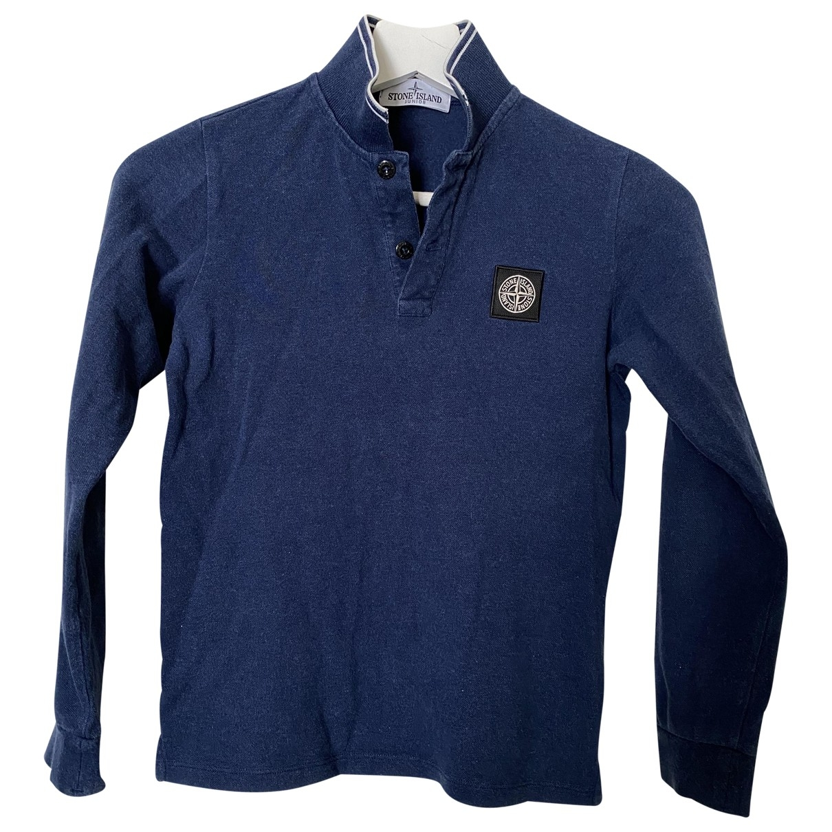Stone Island \N Blue Cotton  top for Kids 10 years - up to 142cm FR