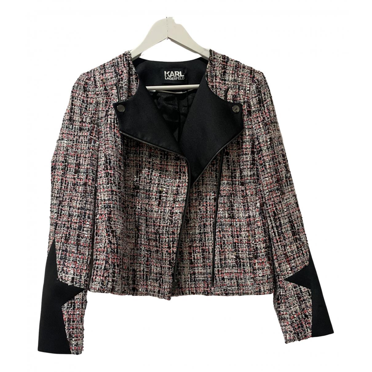 Karl Lagerfeld \N Jacke in  Bunt Polyester