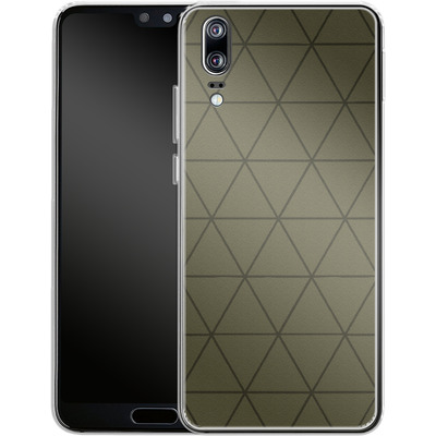 Huawei P20 Silikon Handyhuelle - Moss von caseable Designs