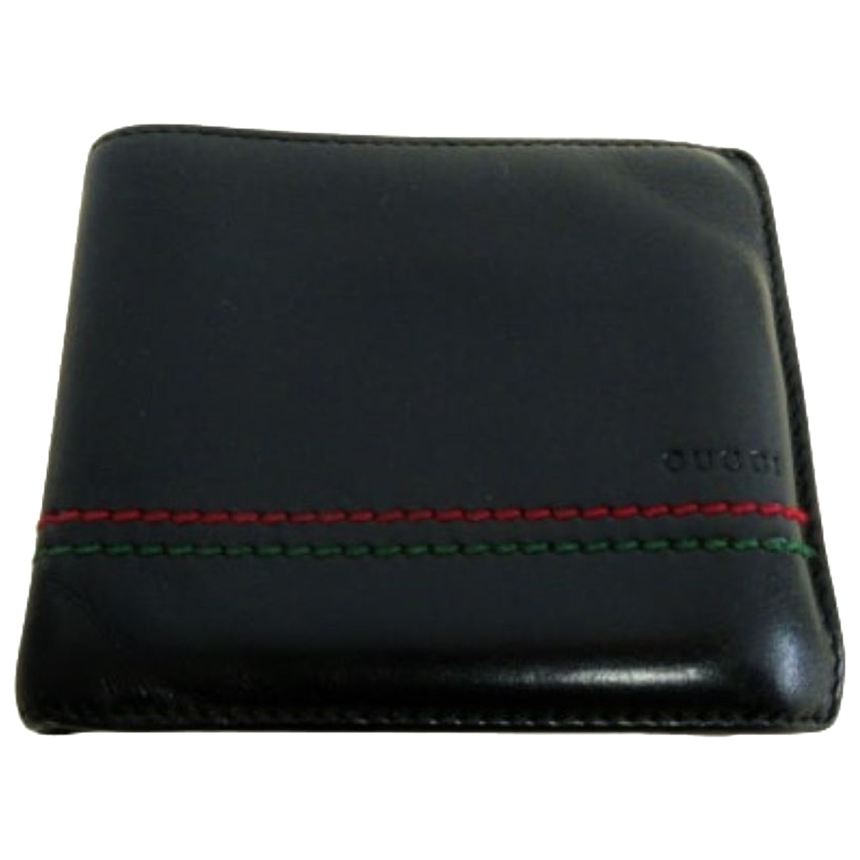 Gucci N Black Leather Small bag, wallet & cases for Men N