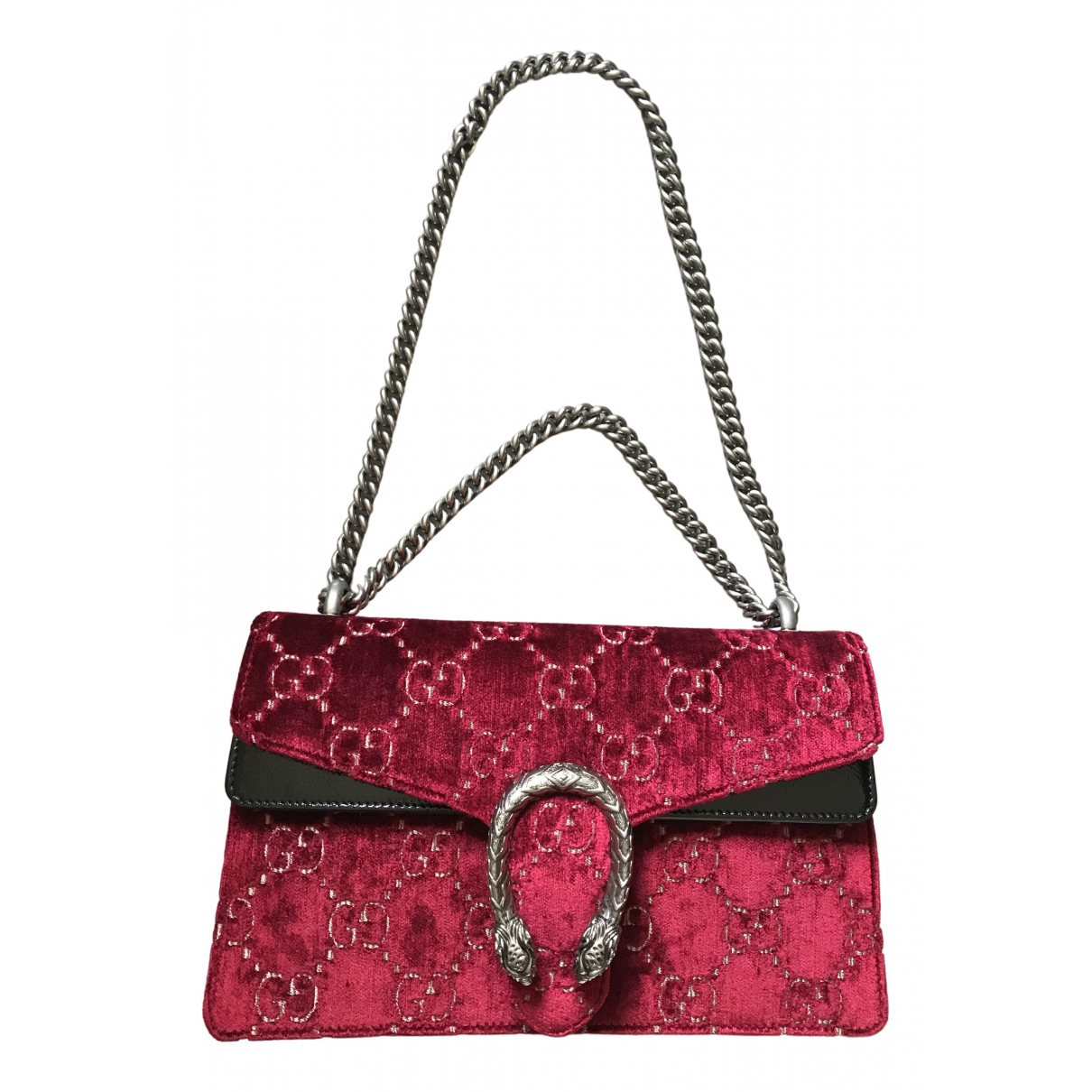 Gucci Dionysus Burgundy Velvet handbag for Women \N