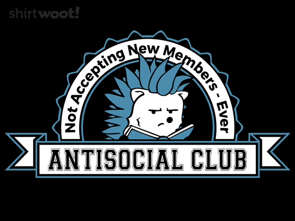 Antisocial Club T Shirt