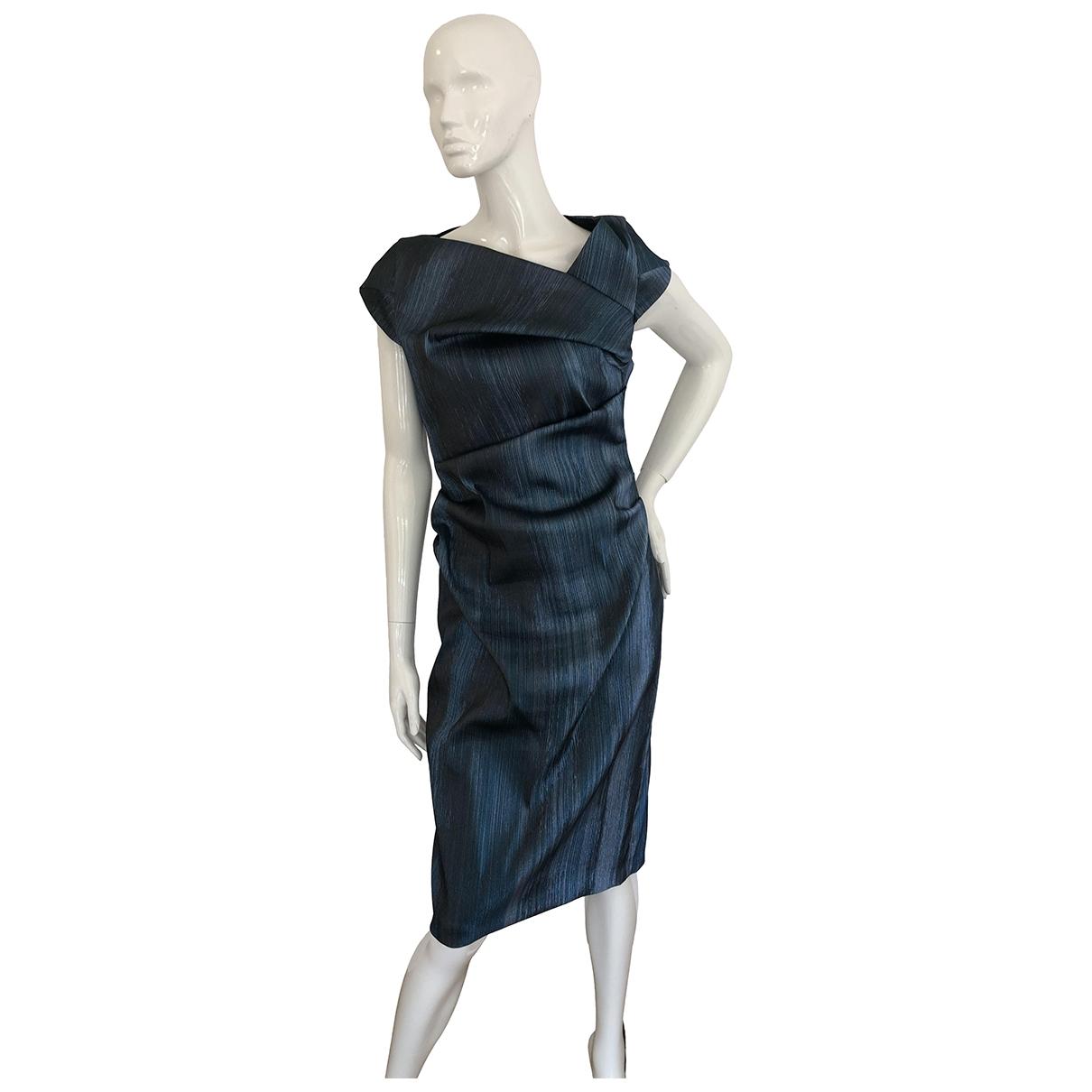 Talbot Runhof - Robe   pour femme en coton - metallise
