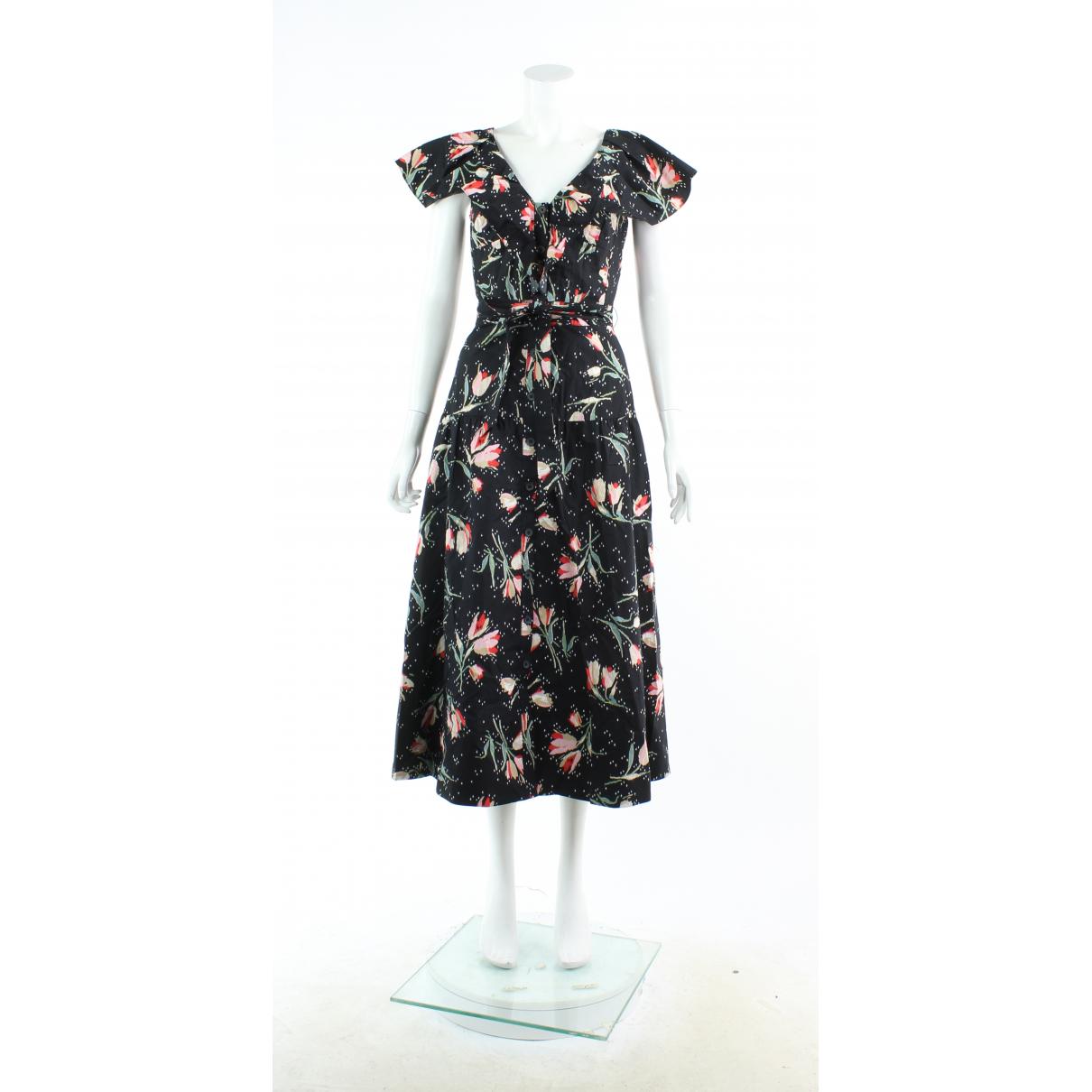 Rebecca Taylor \N Black Cotton dress for Women 0 0-5
