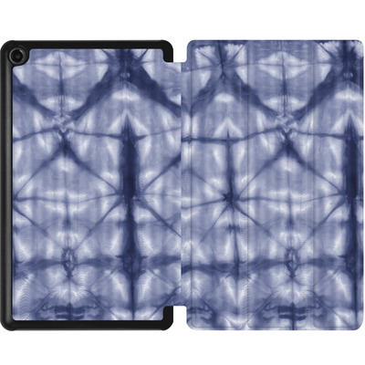 Amazon Fire 7 (2017) Tablet Smart Case - Tie Dye 2 Navy von Amy Sia