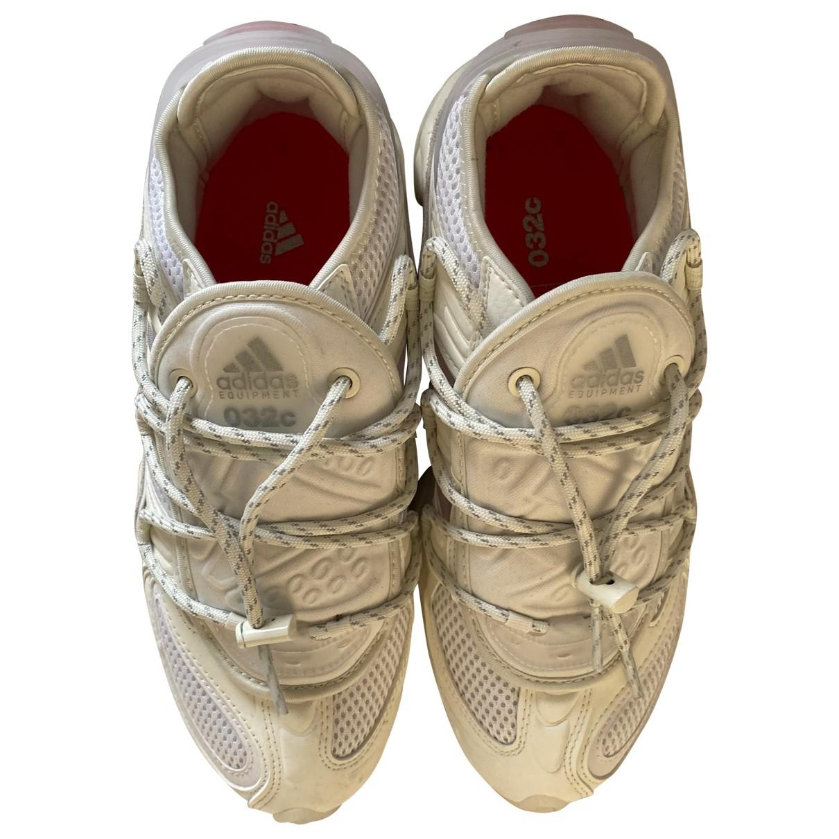 Adidas - Baskets Ozweego pour homme en toile - blanc