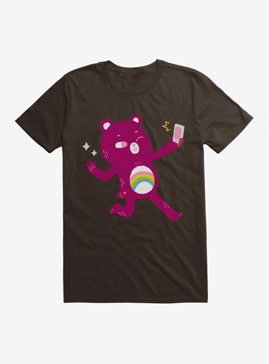 Care Bears Comic Art Cheer Selfie T-Shirt
