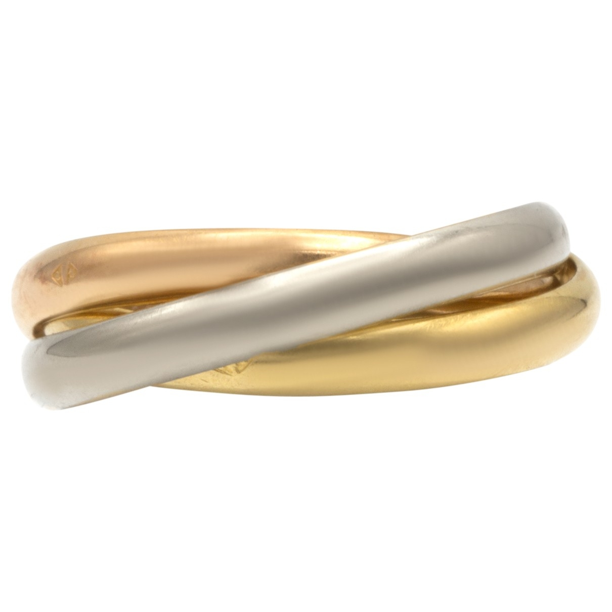 Cartier Trinity Ring in  Bunt Gelbgold