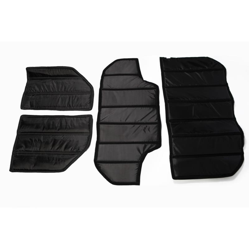 Rugged Ridge 12109.02 Hard Top Insulation Kit; 07-10 Jeep Wrangler JK, 4 Door Jeep Wrangler 2007-2011