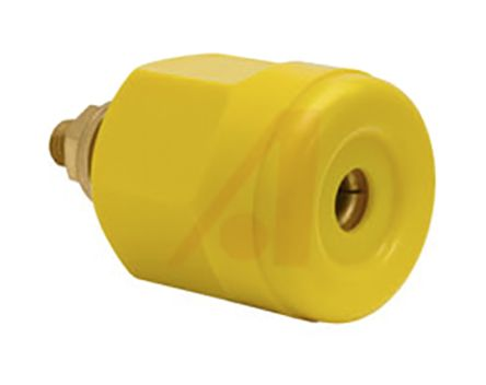 Superior Electric Supercon Series Power Connector Panel Mount Socket, 1P, Wire Wrap Termination, 100A, 125/250 V ac/dc