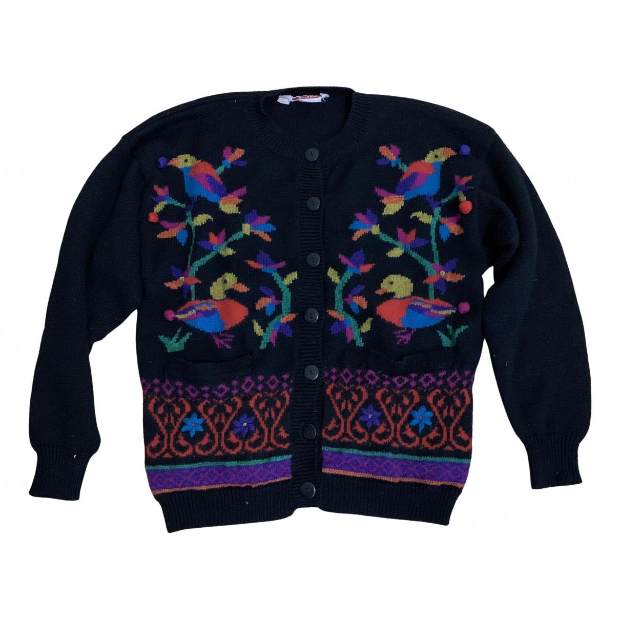 - Pull Autrichien pour femme en laine - noir
