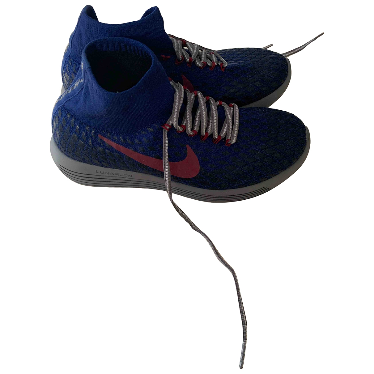 Nike Acg \N Blue Rubber Trainers for Women 8.5 UK