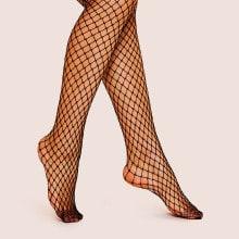 High-Rise Fishnet Stockings