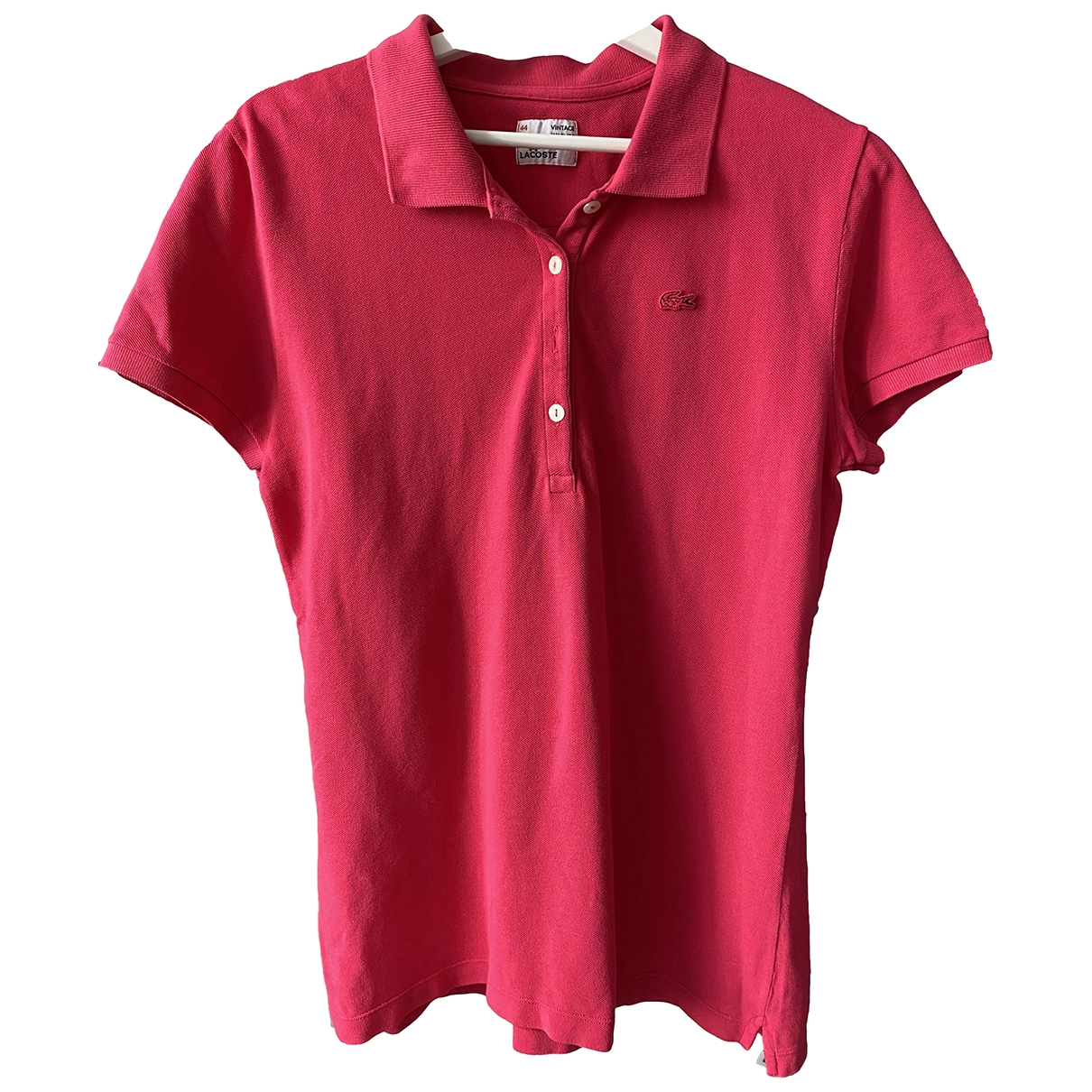 Lacoste \N Pink Cotton  top for Women S International