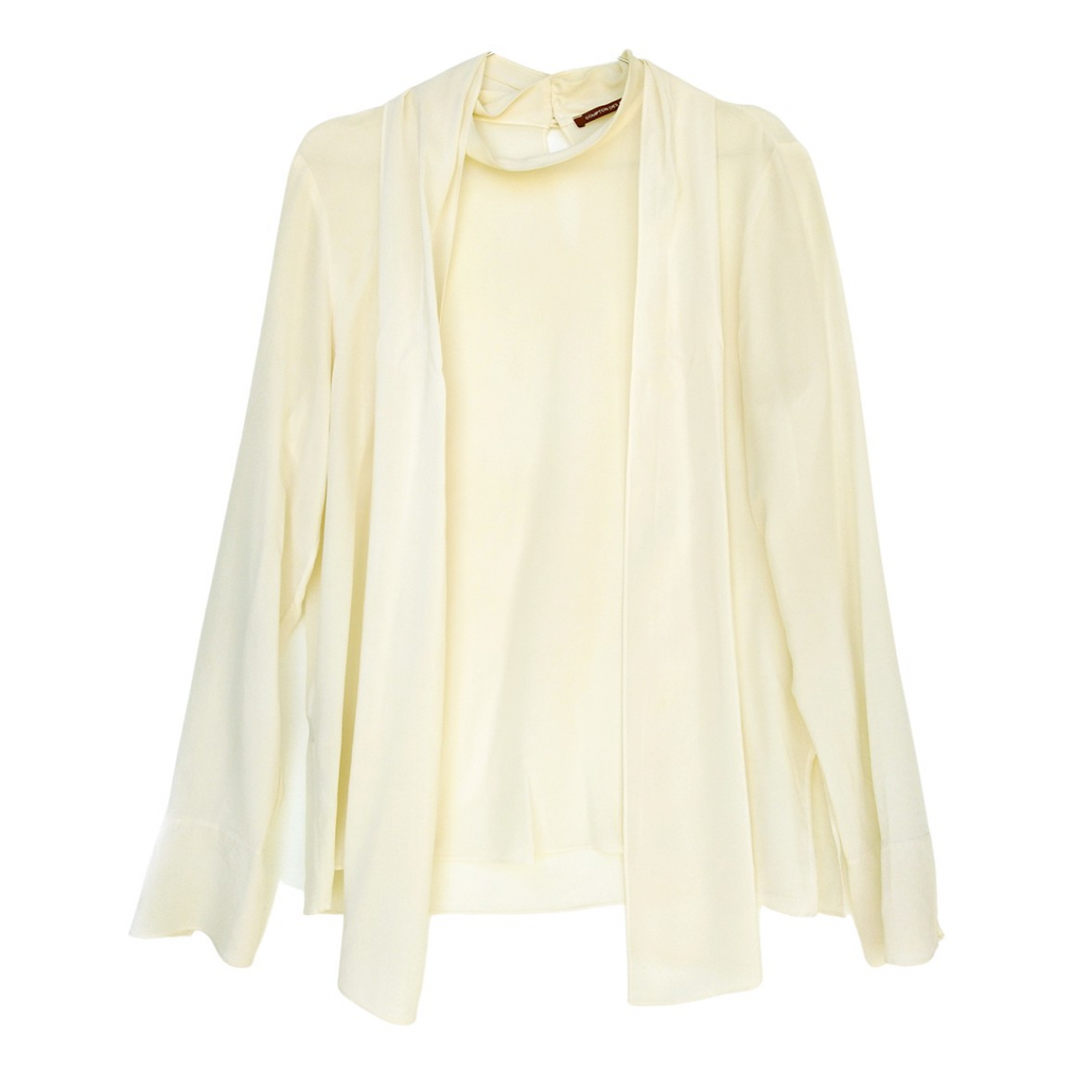 Comptoir Des Cotonniers \N White Silk  top for Women 40 FR