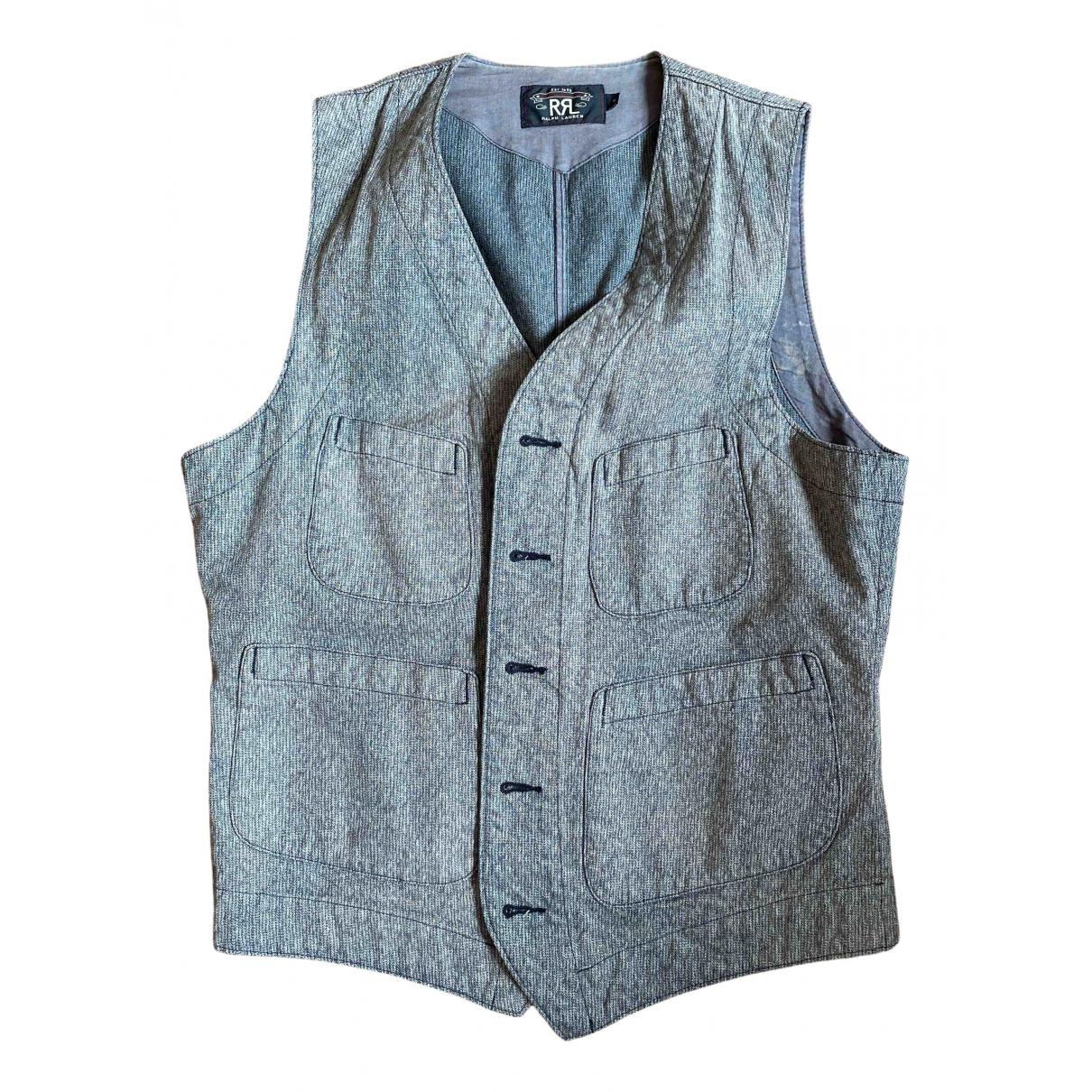Ralph Lauren \N Pullover.Westen.Sweatshirts  in  Grau Baumwolle