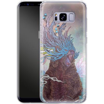 Samsung Galaxy S8 Plus Silikon Handyhuelle - Journeying Spirit - Bear von Mat Miller
