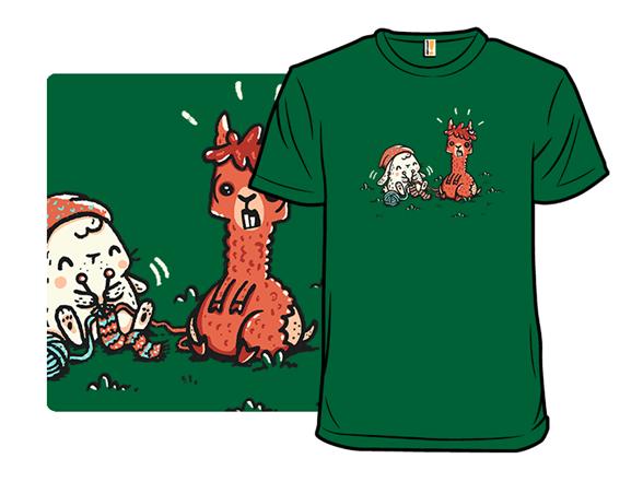 100% Alpaca Wool T Shirt