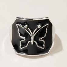 Ring mit Schmetterling Dekor