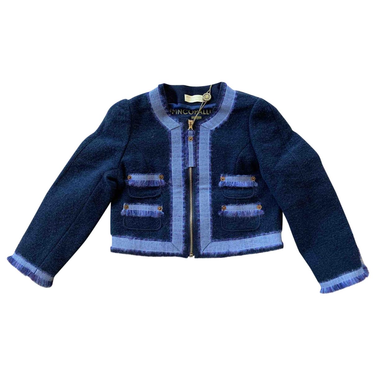 I Pinco Pallino \N Blue Wool jacket & coat for Kids 4 years - up to 102cm FR