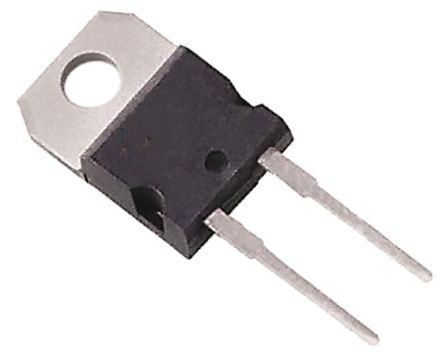 STMicroelectronics 650V 20A, SiC Schottky Diode, 2-Pin TO-220AC STPSC20065D