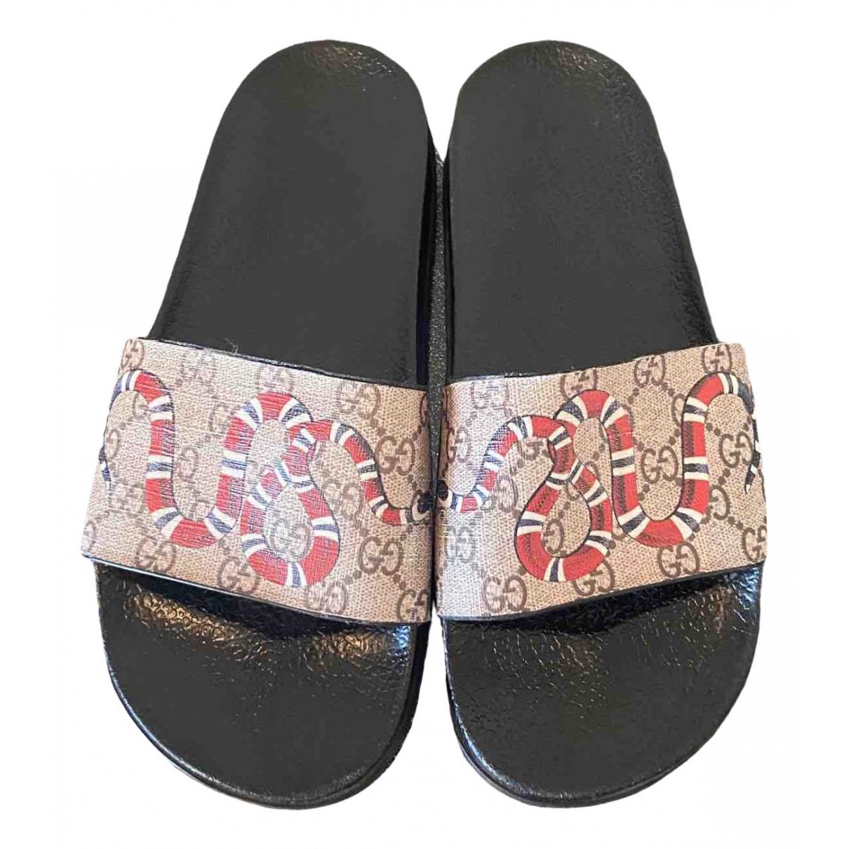Gucci \N Cloth Sandals for Men 42 EU