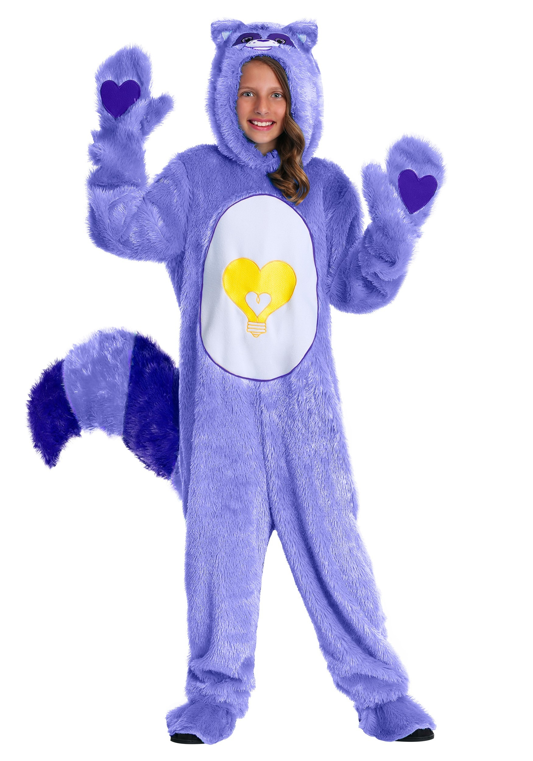 Care Bears & Cousins Bright Heart Raccoon Child Costume