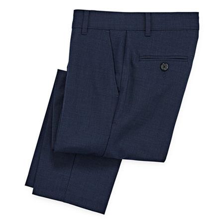 Van Heusen Little & Big Boys Suit Pants, 20 , Blue
