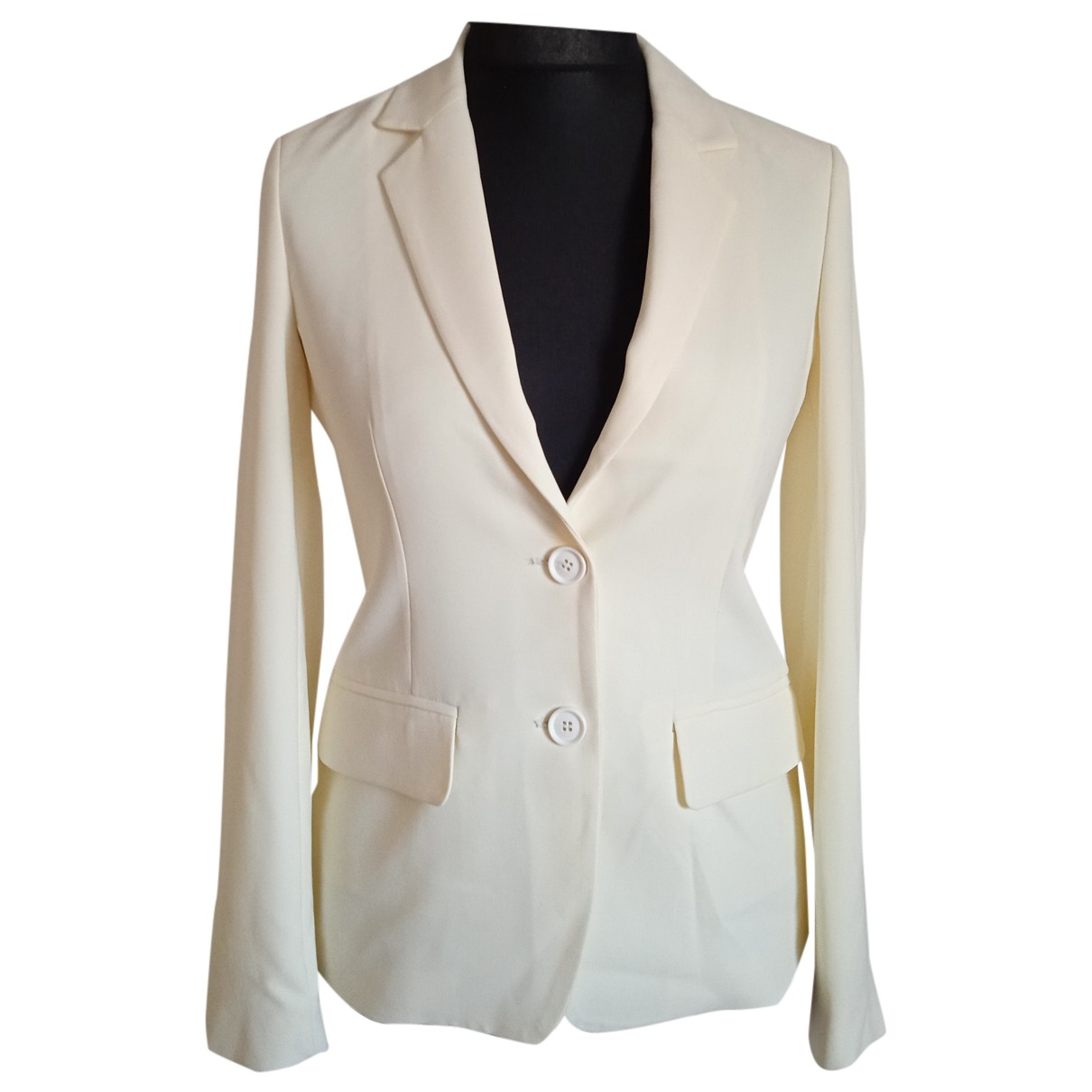 Trussardi Jeans N Beige jacket for Women 40 IT
