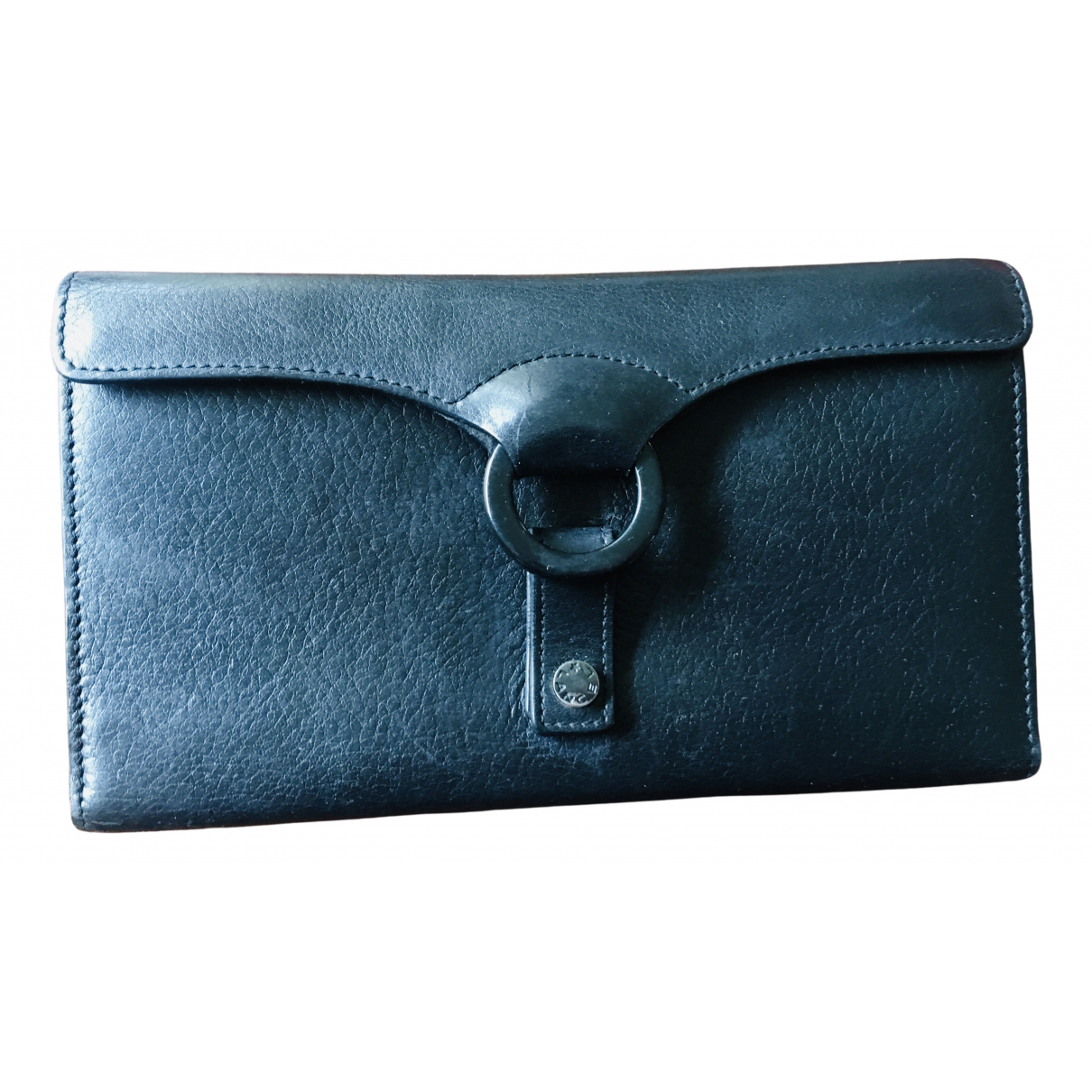 Lancel \N Portemonnaie in  Schwarz Leder