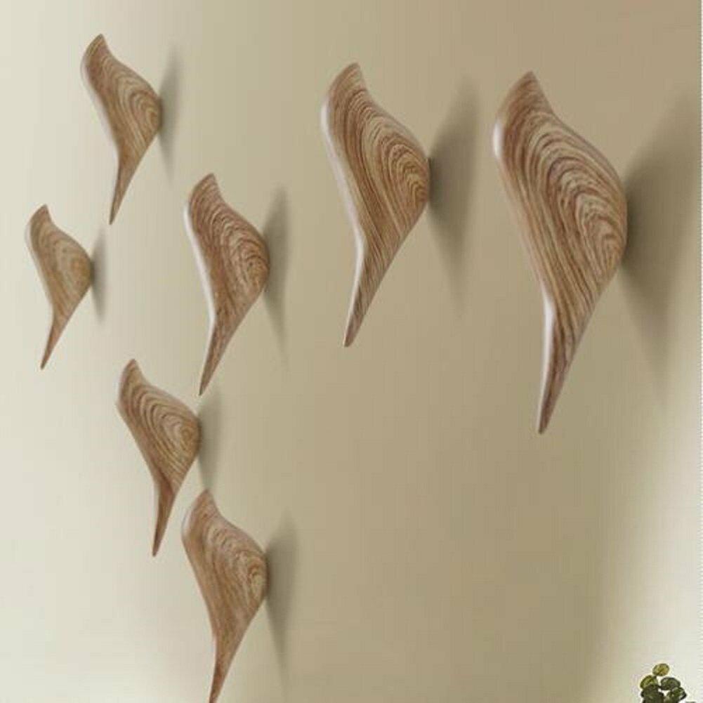 KCASA KC-488 Bird Shape 3D Wall Hooks Resin Bird Decoration Coat Towel Hook Single Wall Hanger