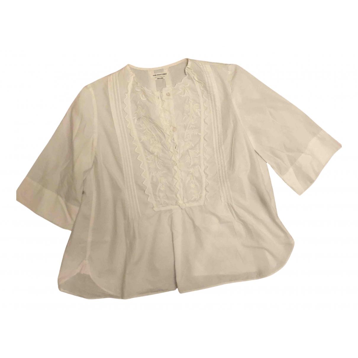 Isabel Marant Etoile N White Cotton  top for Women 40 FR