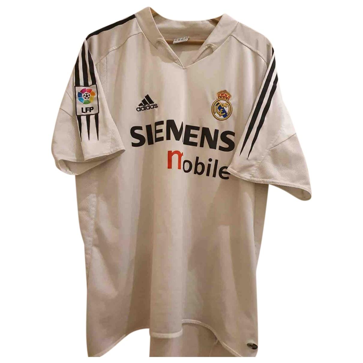 Adidas - Tee shirts   pour homme - blanc