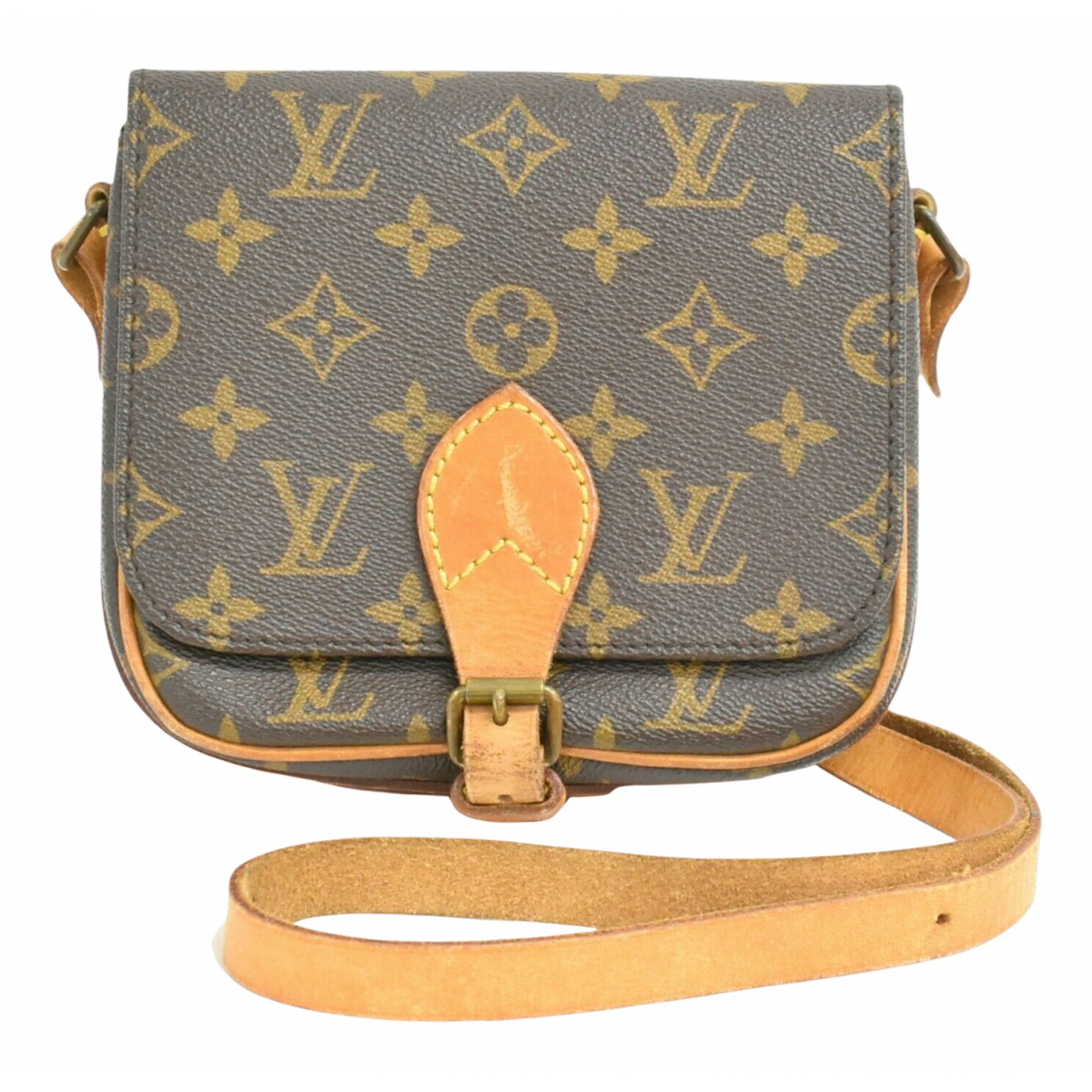 Bandolera Cartouchiere de Lona Louis Vuitton