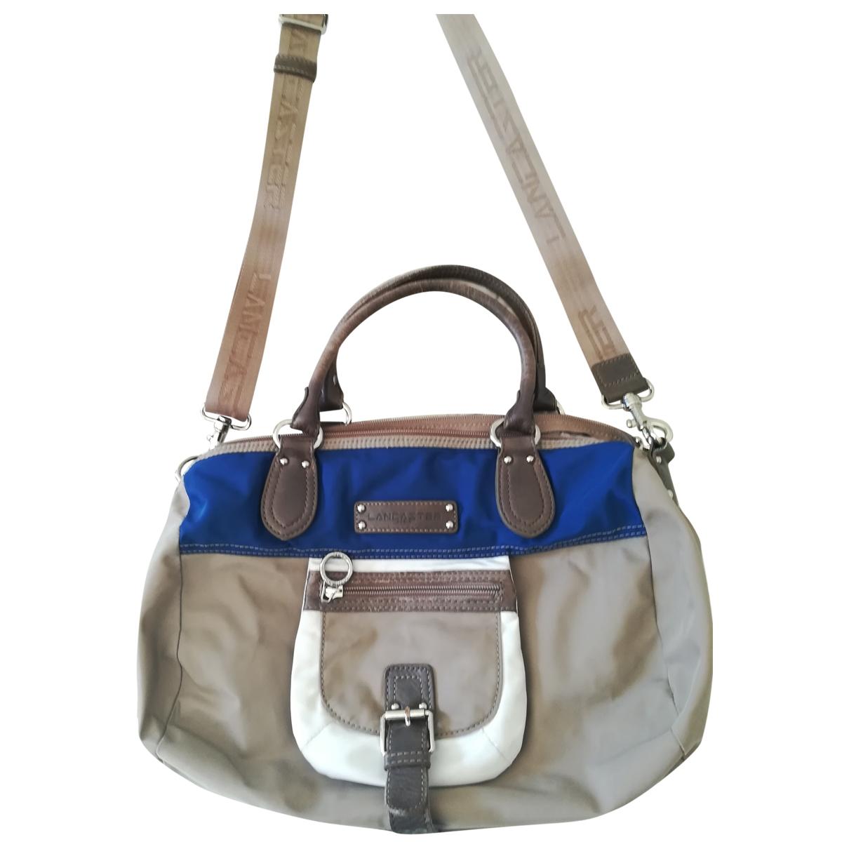 Lancaster \N Beige handbag for Women \N
