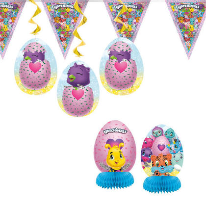 Hatchimals 1 Decoration Kit 7 pcs. For Birthday Party