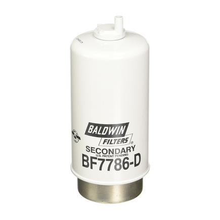Baldwin BF7786-D - Secondary Fuel/Water Separator Element W/Drain F...