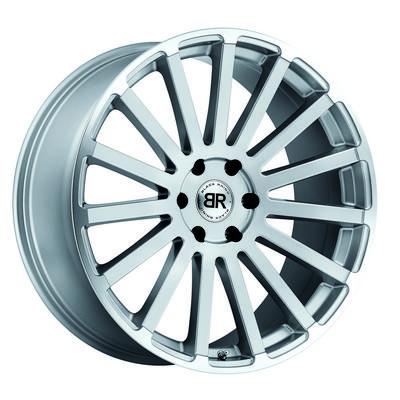 Black Rhino Spear, 20x9 Wheel with 5x5 Bolt Pattern - Silver with Mirror Cut Lip - 2090SPR305127S71
