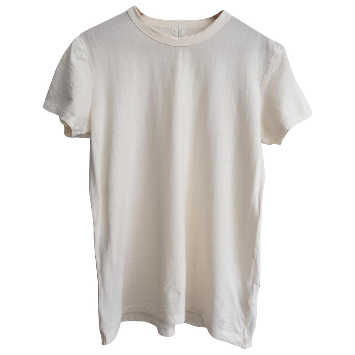 Arket \N White Cotton  top for Women L International
