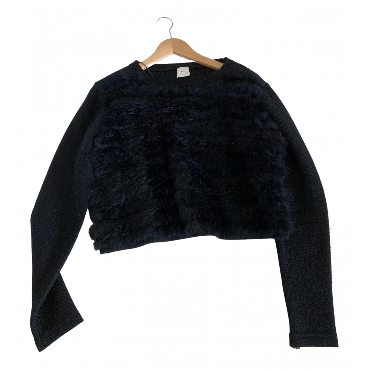 Pinko - Top   pour femme en coton - noir